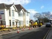 Must be election time, pavements are being fixed!