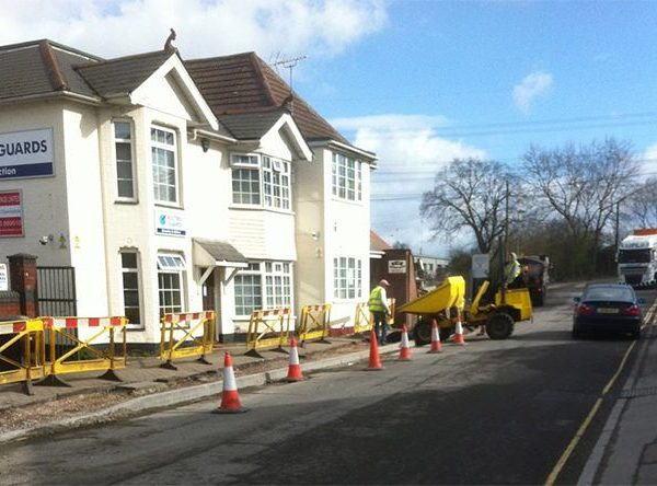 High Street Pavement Work