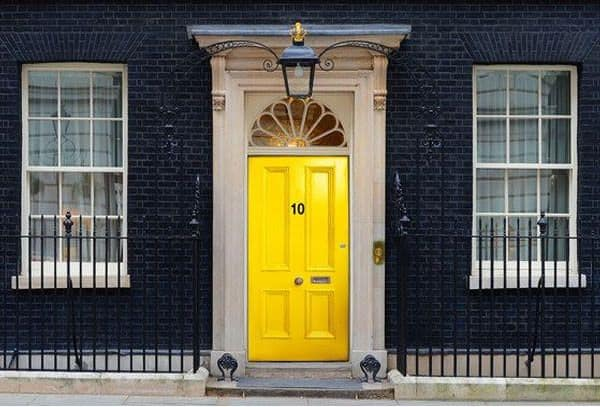 June - Number 10 Yellow Door