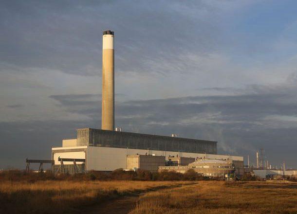 Fawley Power Station site development