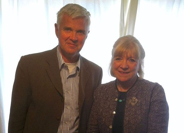 Queen Of British Journalism, Polly Toynbee,Visits Totton