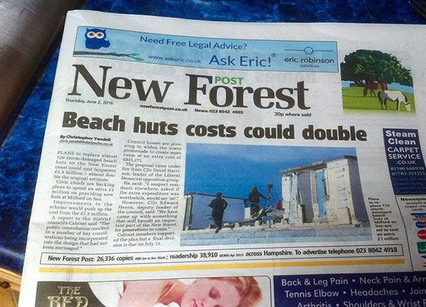 Beach Hut Blues