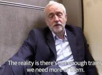 Virgin trains and Jeremy Corbyn MP