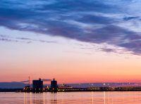 Southampton Water at dusk