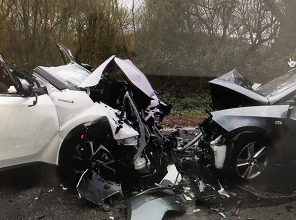 Marchwood Bypass Crash