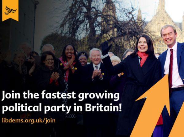 Lib Dem Membership Up 5000 Today