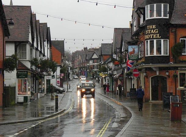 Lyndhurst High Street