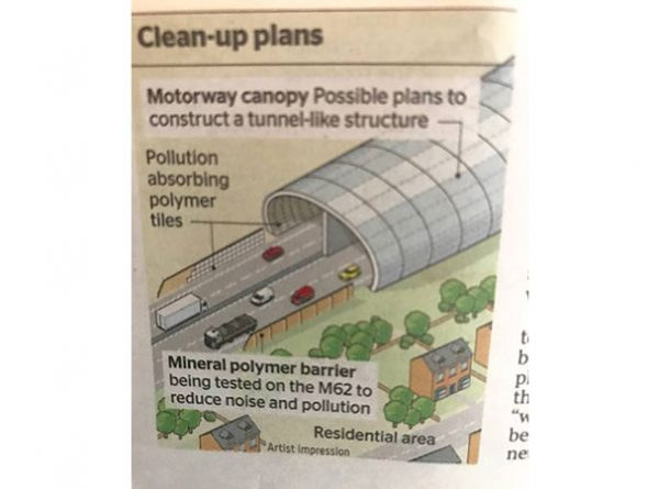 Giant Polytunnel For A35 Totton Bypass?
