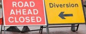Water Lane Road Works