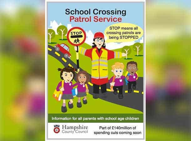 School Crossing Patrol Service Poster