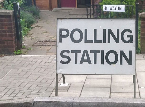 Mrs Brown's Boys - polling station?