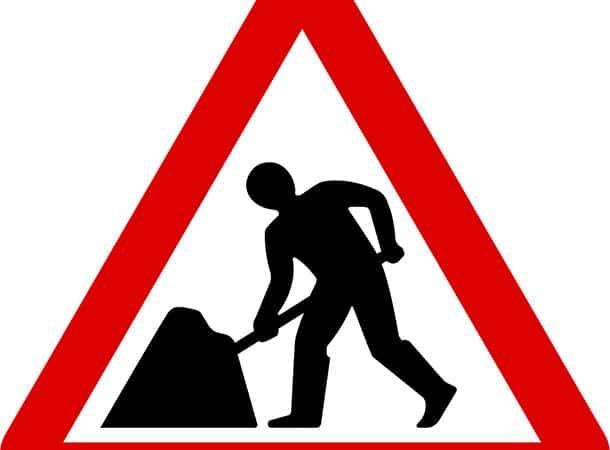 Trotts Lane - Advanced Warning of Roadworks
