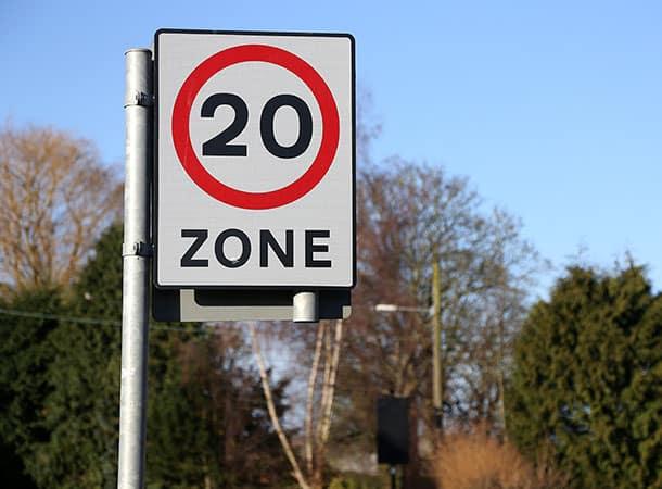 20 mph Speed Limit