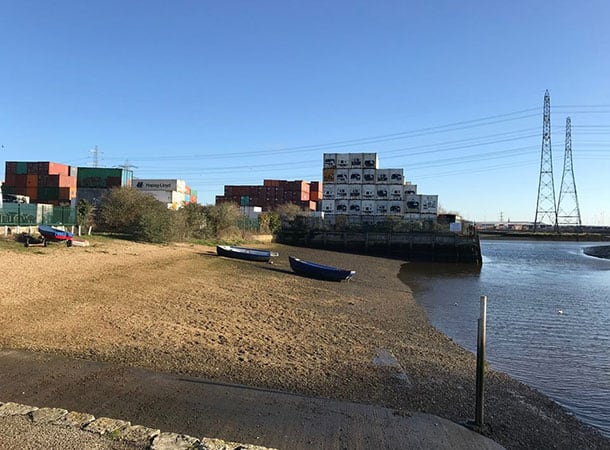 clean up still required at Eling Quay