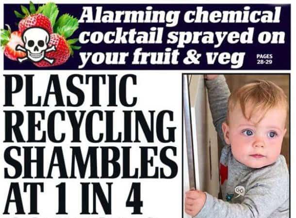 plastic recycling shambles