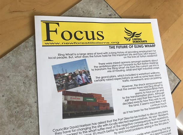 Focus Leaflet