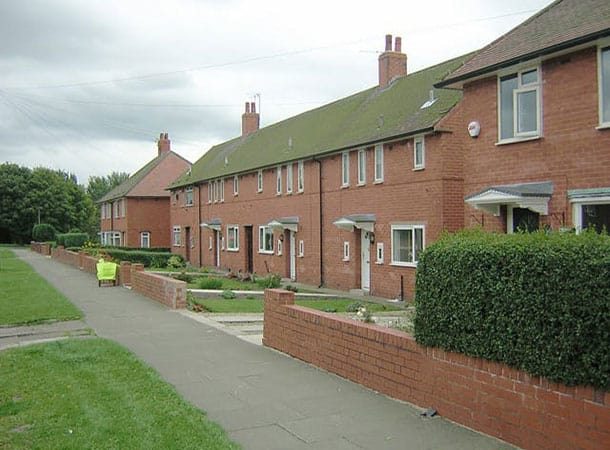 Council Housing - dolly steps