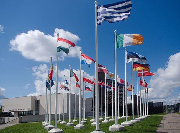 referendum - Eu Flags