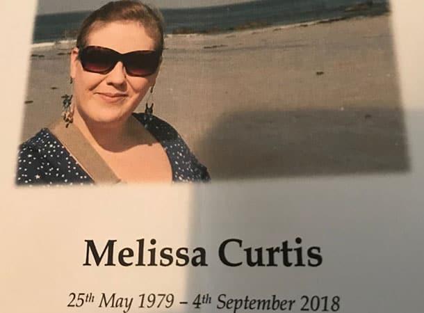 Melissa Curtis 1979 2018