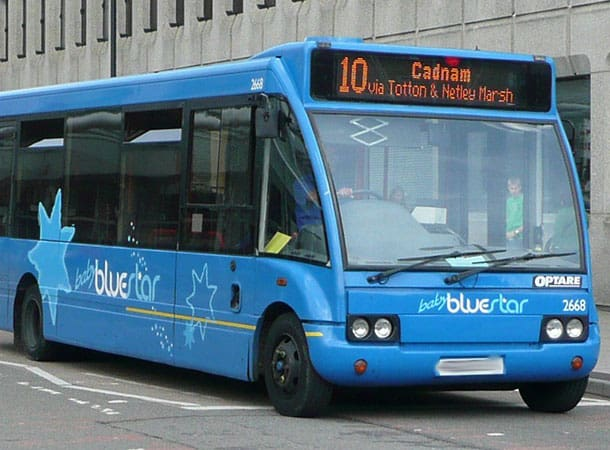 Baby Bluestar Bus