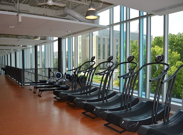 Gym Exercise Equipment Treadmills