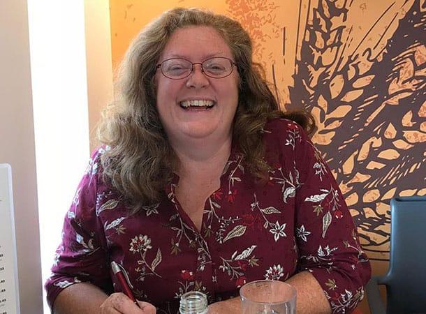 Lib Dem Councillor Caroline Rackham
