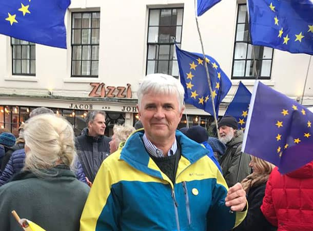 David At Eu Rally