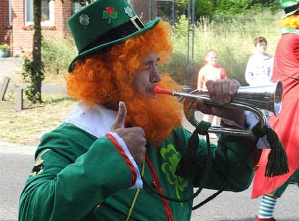 Leprechaun From Last Years Totton Carnival 2018