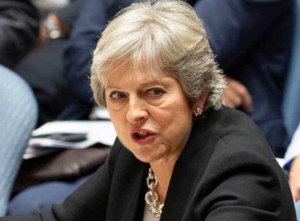 Strong & stable - Prime Minister Teresa May