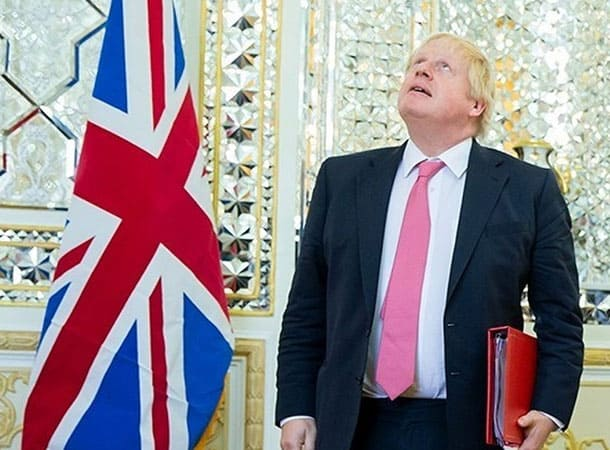Boris Johnson In Tehran