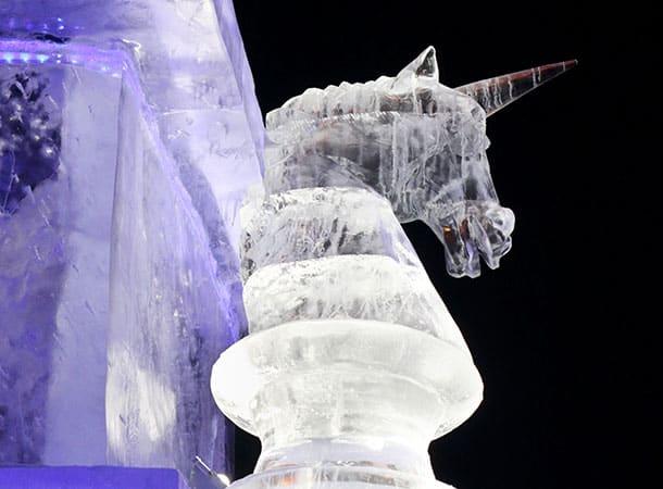 Ice Sculpture - Unicorn